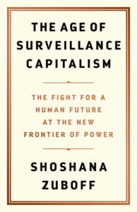 Age of Surveillance Capitalism book cover