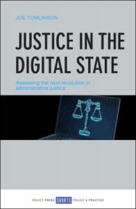 Justice in the Digital State book cover