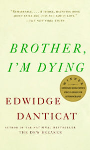 Brother I'm Dying book cover